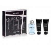 Estuche Boucheron Quatre Homme Edt 100 ml + Regalo Gel + After Shave