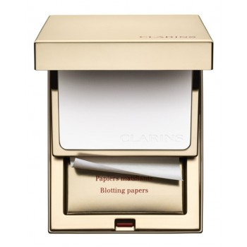 Clarins Kit Polvos + Papel matificante