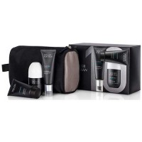 Moller Man Set Balm Flashtec Anti Irritation 50 ml +Flashtec Cleasing 50 ml + Deodorant 75 ml + Dressing Case