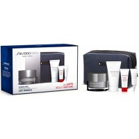 Shiseido Men Gift Set Skin Revitalizer Cream 50 ml + Cleasing Foam 30 ml + Ultimune Power Infusing Serum 5 ml + Total Revitalize