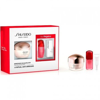 Shiseido Gift Set Benefiance Wrinkle Resist 24 Day Cream SPF 15 50 ml + Ultimune Power Infusing Concentrate 10 ml + Benefiance W