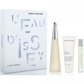 Issey Miyake Gift SetEau de Toilette 100 ml + Body Lotion 75 ml + Miniature 10 ml