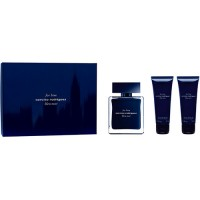 Narciso Rodriguez For Him Bleu Noir Gift Set Eau de Toilette 100 ml + Body Shower 75 ml