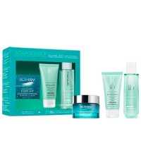 Set Biotherm Aquasource Everplump 50 ml + Biosource Purifying Foaming Cleanser 50 ml + Biosource 24 Hours Hydrating and Tonifyin