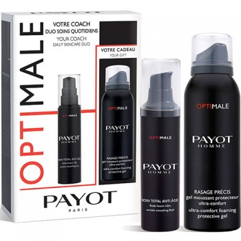 Set Payot Men Optimale Soin Total Anti Age 50 ml + Gel Rasage Precis 100 ml