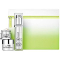 Clinique Sculptwear Lift and Comtour Serum 30 ml Gift Set Sculptwear Contouring Massage Cream Mask 15 ml + Repairwear Sculpting