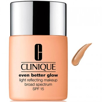 Clinique Maquillaje Even Better Glow Efecto Luminoso N43 WN76 Toasted Whap 30 ml