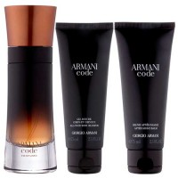 Giorgio Armani Code Profumo Eau de Parfum Men 110 ml Gift Set Body Shower 75 ml + After Shave 75 ml