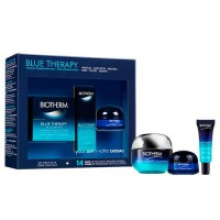 Biotherm Blue Therapy Accelerated Cream 50 ml Gift Set Blue Therapy Accelerated Serum 10 ml + Blue Therapy Night 15 ml