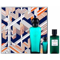 Hermes Eau D´orange Verte Eau de Cologne 100 ml Gift Set  Miniature 75 ml + Body Shower 80 ml