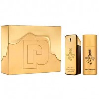 Paco Rabanne One Million Eau de Toilette 100 ml Gift Set Deo Spray 150 ml