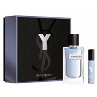 Yves Saint Laurent Y Men Eau de Toilette 100 ml Gift Set Miniature 10 ml