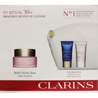 Clarins Targets Fine Lines Antioxidant Day Cream All Skin Types 50 ml Gift Set Targets Fine Lines Revitalizing Night Cream 15 ml