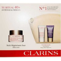 Clarins Extra Firming Day Wrinkle Lifting Cream Dry Skin 50 ml Gift Set Extra Firming Mask 15 ml + Extra Firming Night Rejuvenat