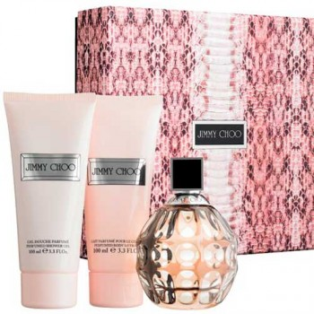 Jimmy Choo Gift Set Eau de Parfum 100 ml + Body Milk + Gel