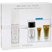 Sisley All Day All Year Anti Aging Cream 50 ml Gift Set Eau Efficace Gentle Make Up Remover 30 ml + Supremya Eye Cream 5 ml + Ni