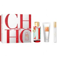 Carolina Herrera CH LEau 17 Eau de Toilette 100 ml Gift Set Loción Hidratante 100 ml + Miniature 7 ml