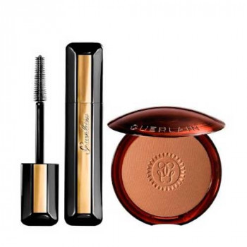 Guerlain Set Terracotta Poudre Bronze 03 Gift Set Mini Cils D'Enfer Mascara Extra Volumen Black
