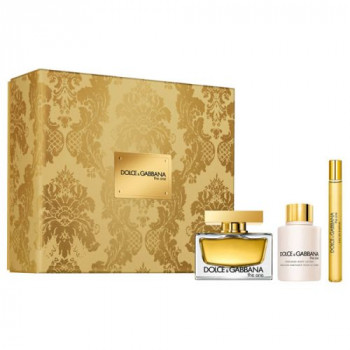 Estuche Dolce  Gabbana The One Edp 75 ml + Regalo Leche Corporal + Gel