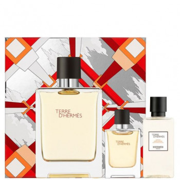Estuche Hermes Terre D´Hermes Edt 100 ml + Espuma de Afeitar 50 ml + After Shave 40 ml