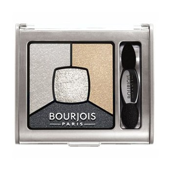 Bourjois Sombra de Ojos Quad Smokey Stories 09 Faux Blancs