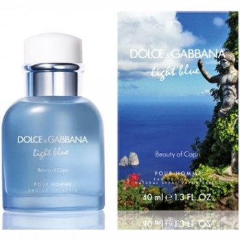 Dolce  Gabbana Light Blue Beauty of Capri pour Homme Eau de Toilette 125 ml