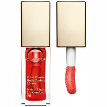 Clarins Instant Light Lip Comfort Oil 03 Red Berry