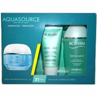 Biotherm Aquasource Skin Perfection all Skin types 50 ml + Biosource Cleanser 50 ml + Biosource Lotion 100 ml