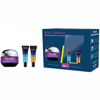 Estuche Biotherm Blue Therapy Lift  Blur Crema 50 ml + Regalo 2 Minitallas